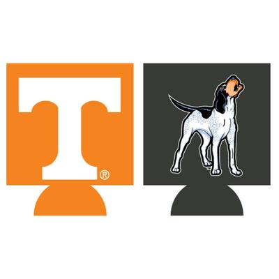 Tennessee Home and Away Koozie