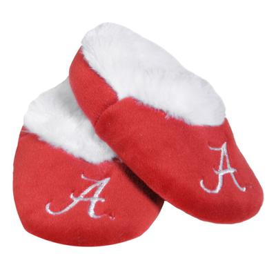 Alabama Infant Fur-Lined Baby Booties