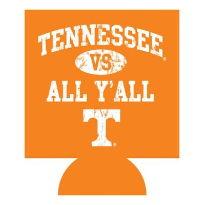 Tennessee Vs. All Y'all Koozie