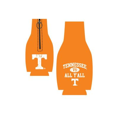 Tennessee Vs. All Y'all Bottle Koozie