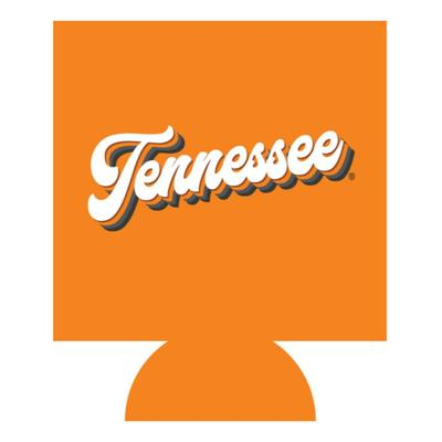 Tennessee Retro Script Can Cooler
