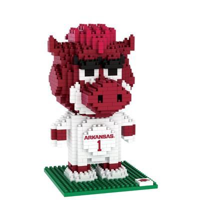 Arkansas Kid's BRXLZ Mascot