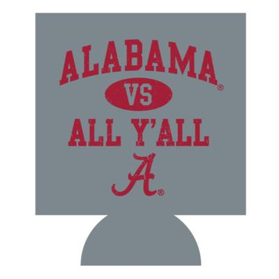 Alabama Vs. All Y'all Koozie