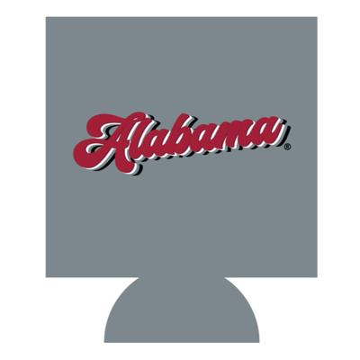 Alabama Retro Script Can Cooler