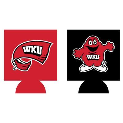 Western Kentucky Home and Away Koozie