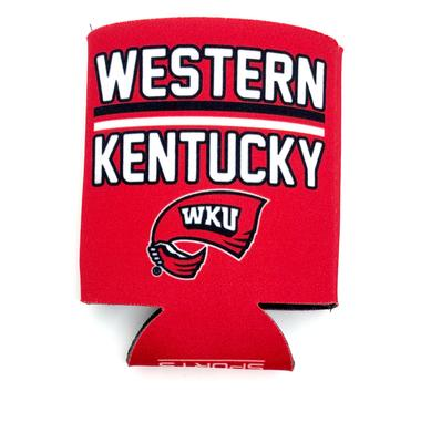 Western Kentucky Bar Logo Can Cooler