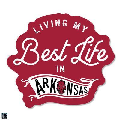 Arkansas SDS Design Best Life Decal