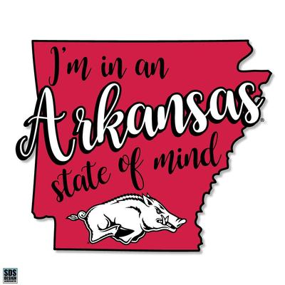 Arkansas SDS Design State of Mind Decal