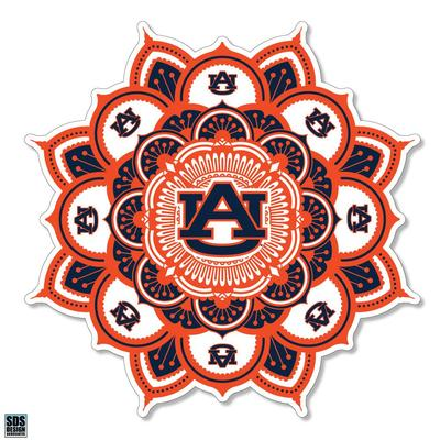 Auburn SDS Design Kaleidoscope Decal