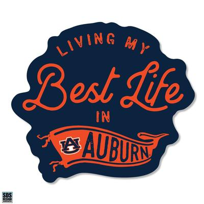 Auburn SDS Design Best Life Decal