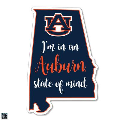 Auburn SDS Design State of Mind Decal