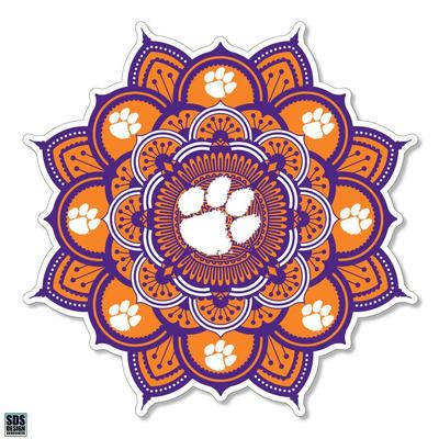 Clemson SDS Design Kaleidoscope Decal