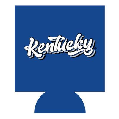 Kentucky Retro Script Can Cooler