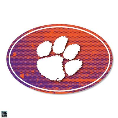 Clemson SDS Design Halftone Decal