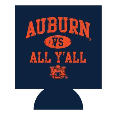 Auburn Vs. All Y'all Koozie