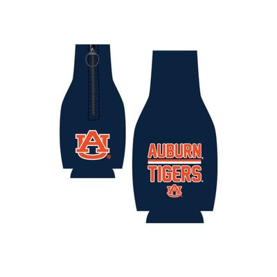 Auburn Tigers Bar Logo Bottle Koozie