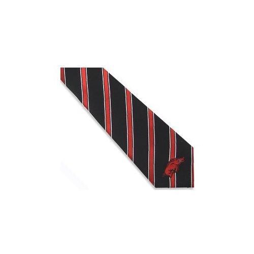Arkansas Thick Stripe Woven Plaid Tie