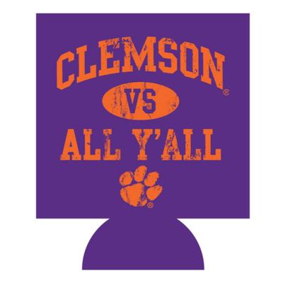 Clemson Vs. All Y'all Koozie