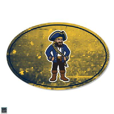 ETSU SDS Design Halftone Decal