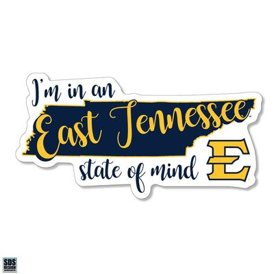 ETSU SDS Design State of Mind Decal