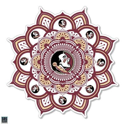 Florida State SDS Design Kaleidoscope Decal