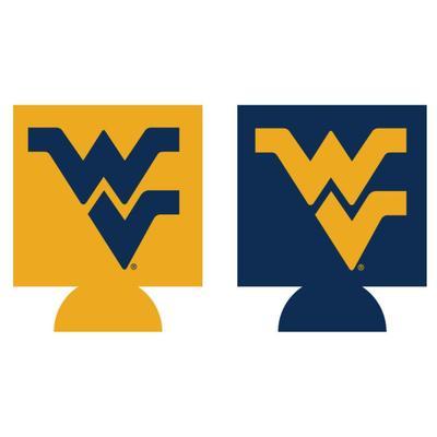 West Virginia Home and Away Koozie
