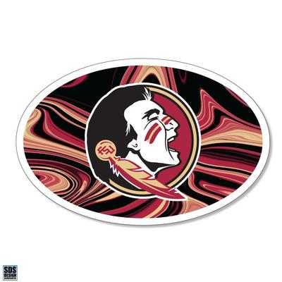 Florida State SDS Design Marble Decal