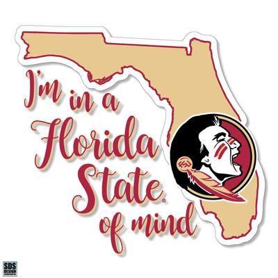 Florida State SDS Design State of Mind Decal