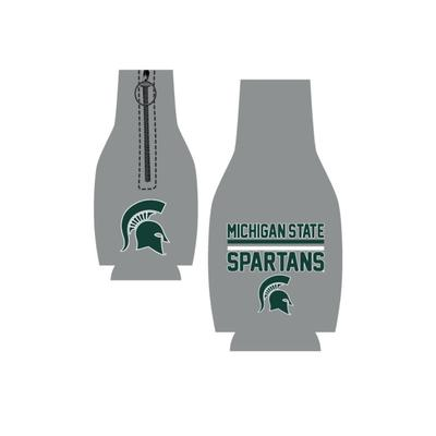 Michigan State Bar Logo Bottle Koozie