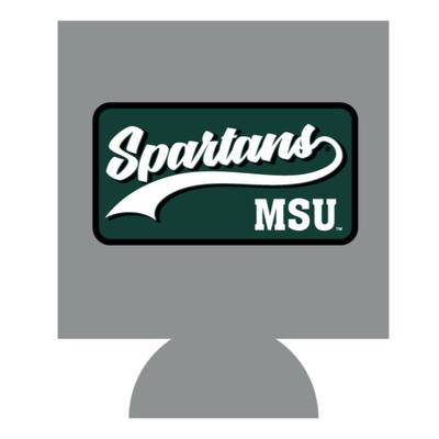 Michigan State Patch Koozie