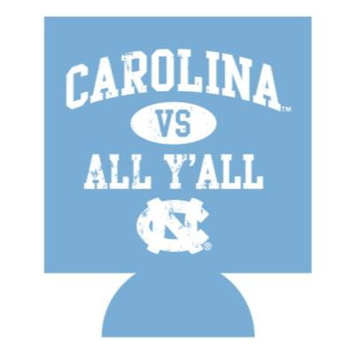 Carolina Vs. All Y'all Koozie