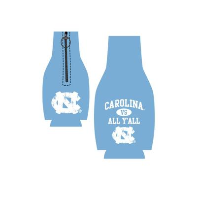 Carolina Vs. All Y'all Bottle Koozie