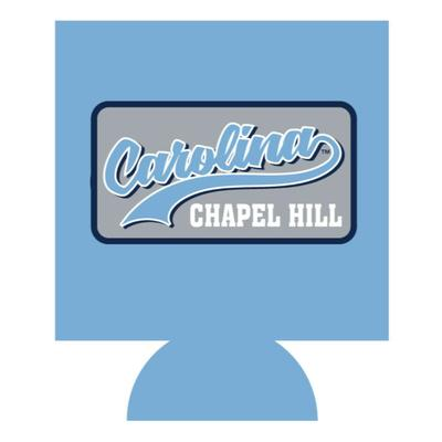 UNC Chapel Hill Patch Can Cooler