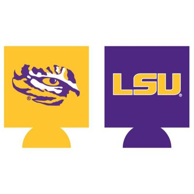 LSU Home and Away Can Cooler