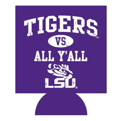 LSU Tigers Vs. All Y'all Koozie