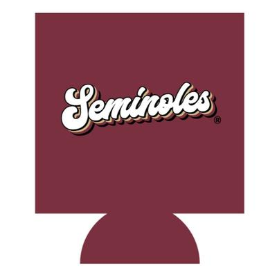 FSU Seminoles Retro Script Koozie