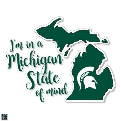 Michigan State SDS Design State of Mind Decal