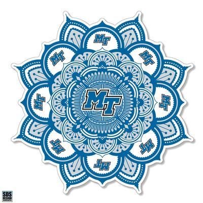 MTSU SDS Design Kaleidoscope Decal
