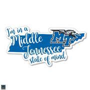 Mtsu Sds Design State Of Mind Decal