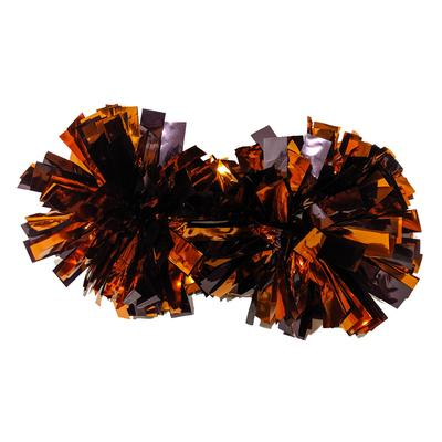 Maroon & Orange Itsey Bitsey Poms