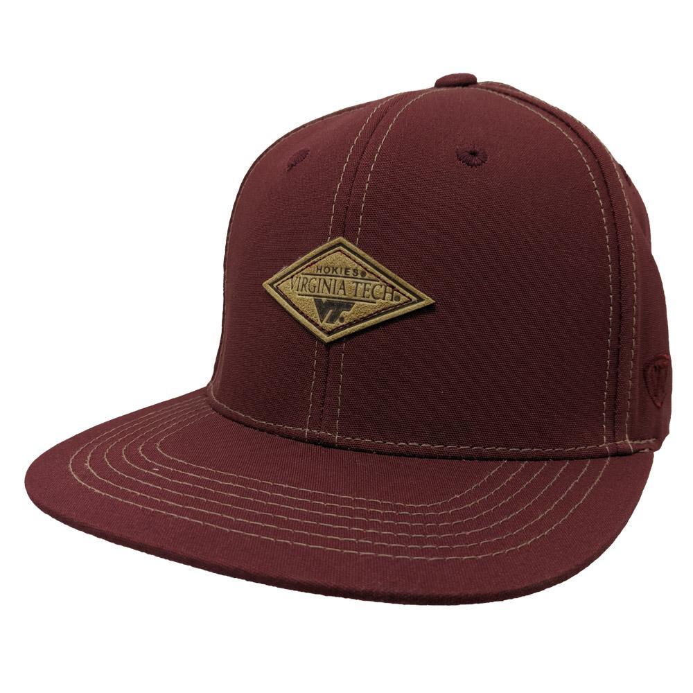 Virginia Tech Springlake Patch Flatbrim Hat