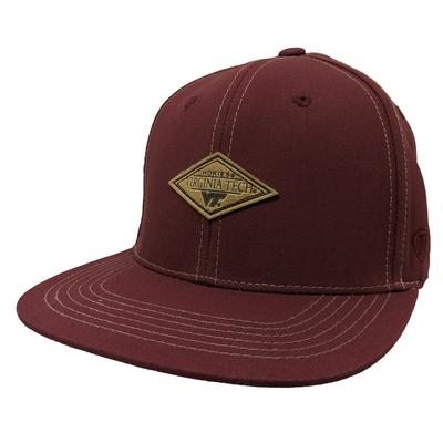 Virginia Tech Springlake Patch Flatbrim Hat