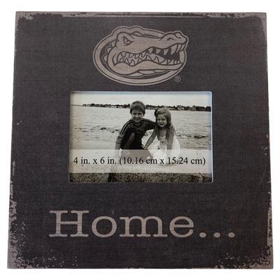 Florida 10 x 10 Gator Logo Home Frame