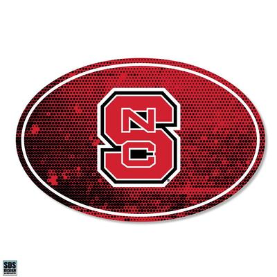 NC State SDS Design Halftone Decal