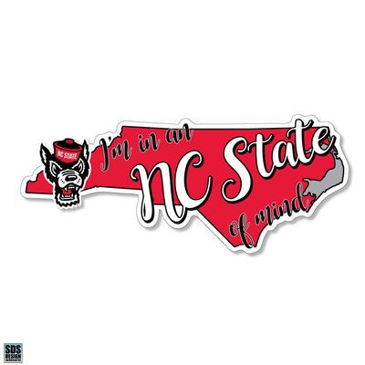 NC State SDS Design State of Mind Decal