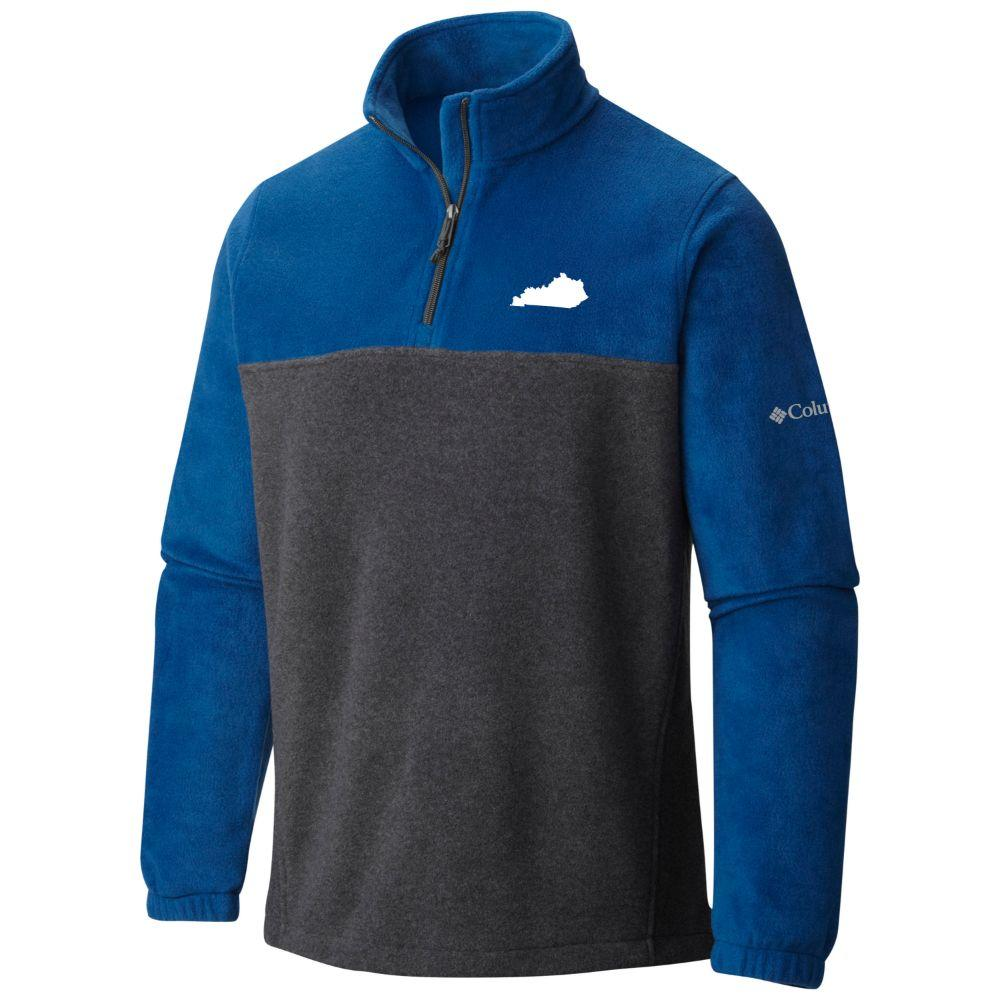 Kentucky Columbia Flanker 1/2 Zip Jacket