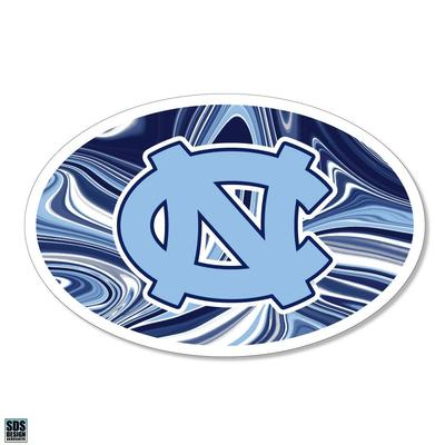 UNC SDS Design Marble Decal