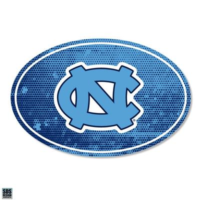 UNC SDS Design Halftone Decal