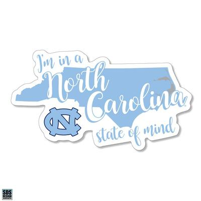 UNC SDS Design State of Mind Decal