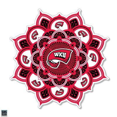 Western Kentucky SDS Design Kaleidoscope Decal